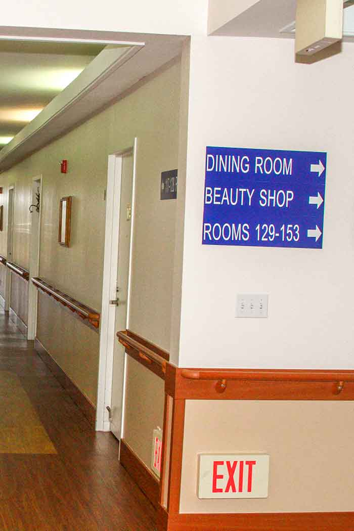 Find your way to the dinning room at High Desert Haven